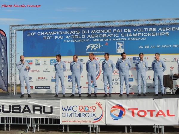 Le championnat de voltige à Châteaureoux, vu par Nicole Prévost