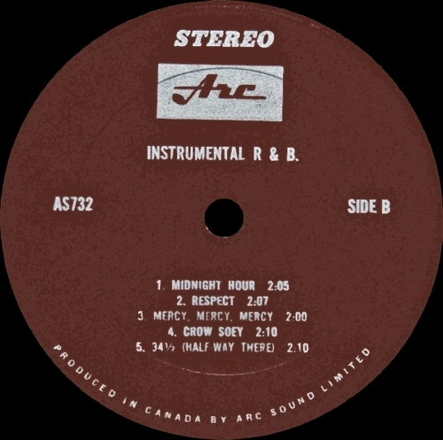 "The Majestics : Album "" Instrumental R&B "" Arc Records AS732 [ CA ]"
