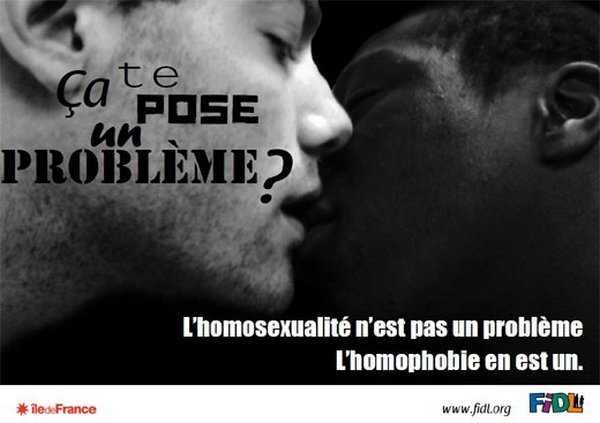 L'homosexualité n'est pas un problème ...