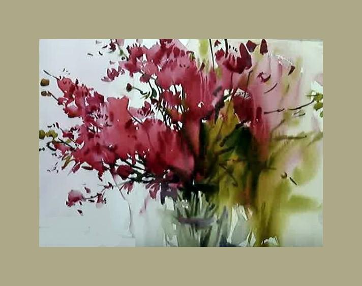 Dessin Et Peinture Video 2208 Les Fleurs Ou La Zenitude Dans La