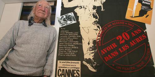 """Disparition de René Vautier réalisateur de """"Avoir 20 ans dans les Aurès"""""""