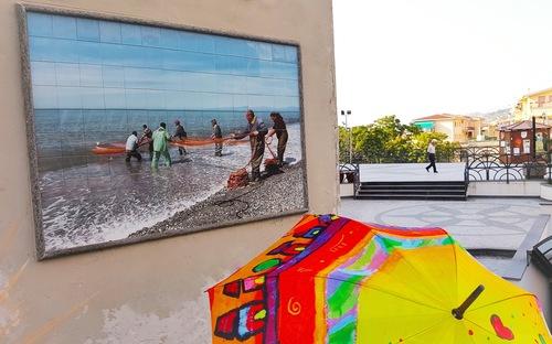 """Ombrelle et """"murales"""""""