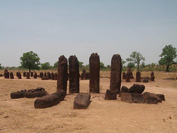 Mehnirs Wassu stones circles shaunamullally au Sénégal