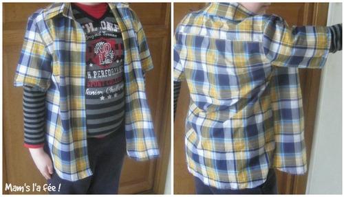 Et une chemise pour Killian !!