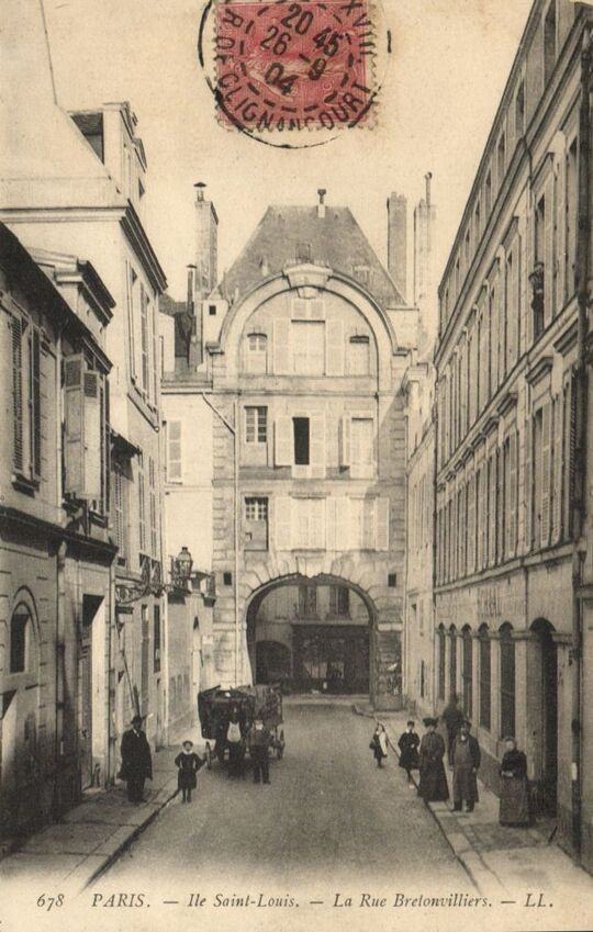 Église Saint-Louis-en-l'Ile ( Paris IV )