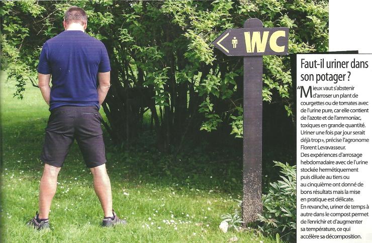 Faut-il uriner.....