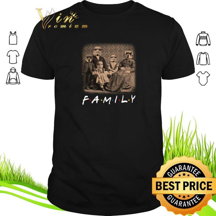 Premium Stormtrooper Family Friends shirt