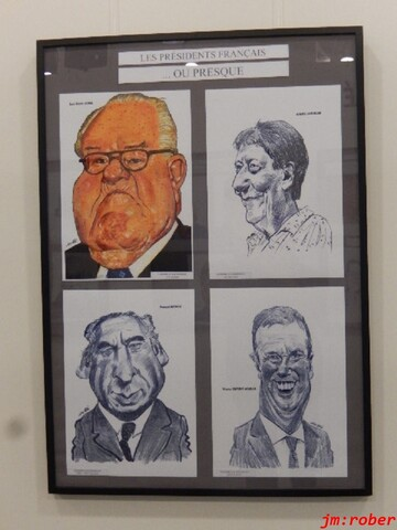 Saint Just Martel: C'était le 37ème salon international de la Caricature, de l'humour et le dessin de Presse (2/2)