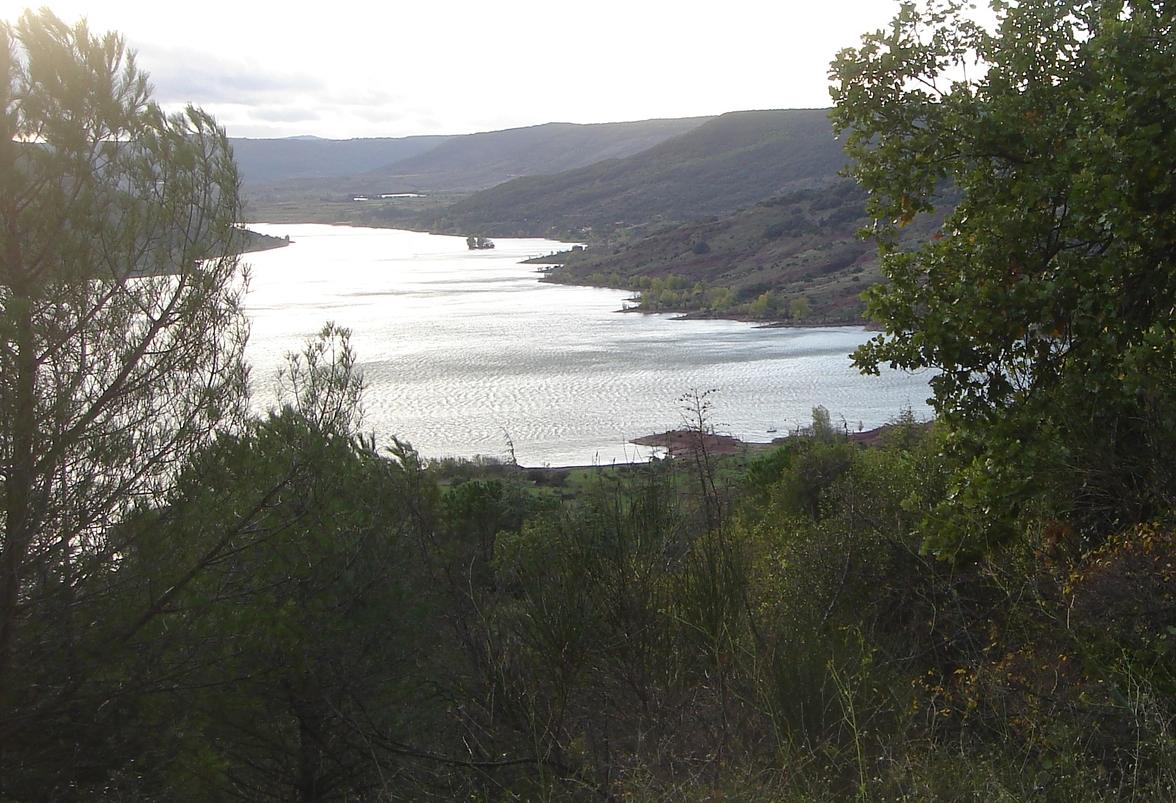 La face nord du Salagou