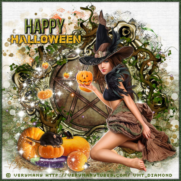 "Tutoriel ""Happy Halloween"" de Liligraph"