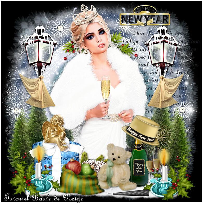 Les créas du Nouvel An de Mamievette