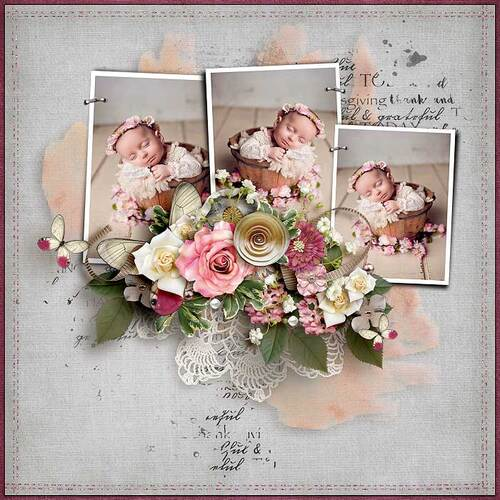 Shades Of Pink by dentelle scrap