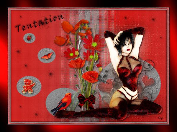 """Belle image """"Tentation"""""""