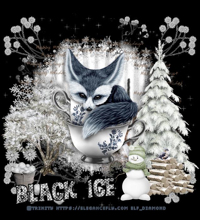 """Tutoriel """"Black ice"""" de Artémis chez Odysseygraph"""
