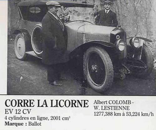Corre La Licorne (1923-
