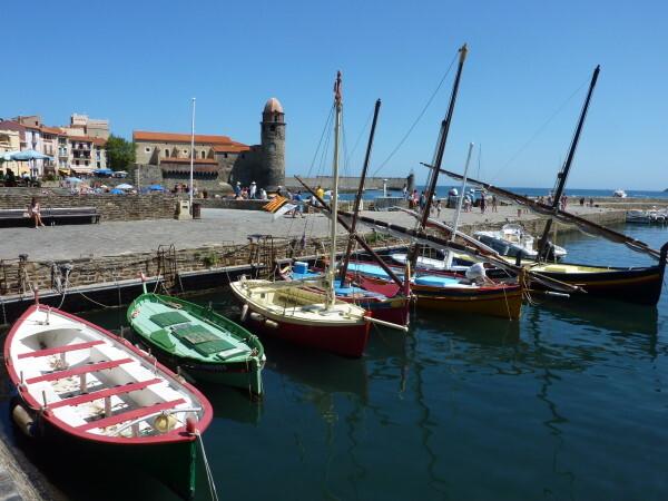 Collioure - Le port et l'église