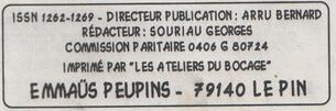 """Le journal """"De bouches à Oreilles"""" en 2004"""