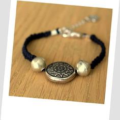 Superbe bracelet créateur macramé tendance ethnique 2015