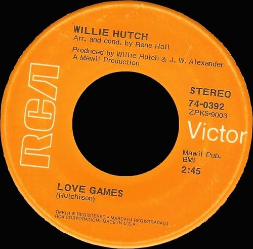 """Willie Hutch : Album """" Season For Love """" RCA Victor Records LSP-4296 [ US ]"""