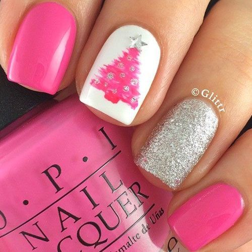 Christmas Nail Art Designs - 47 Christmas Nail Art Designs to Inspire You! Find them all right here -> http://www.nailmypolish.com/christmas-nail-art-designs/ Nail Design, Nail Art, Nail Salon, Irvine, Newport Beach: