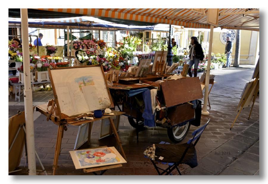 Le marché du Cour Saleya