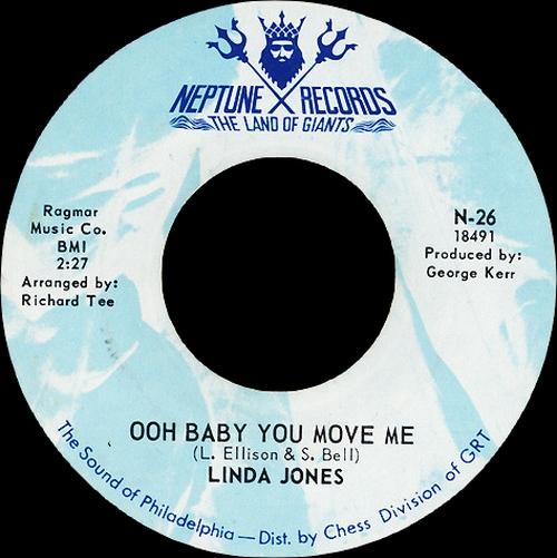 "Linda Jones : CD "" Ooh Baby You Move Me 1968-1970 "" SB Records DP 96 [ FR ]"