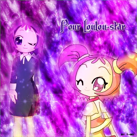 La gagnante, Loulou-Star, récompense