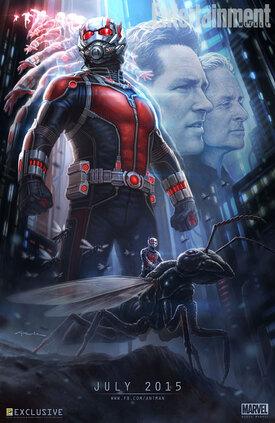 """#SDCC 2014: Poster """"Ant-Man"""" (#Marvel) dévoilé au Comic Con"""