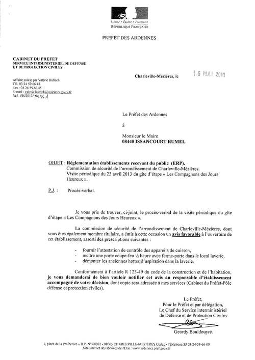 COMMISSION DE SECURITE