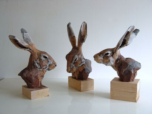 02 - Des histoires de lapins dans la sculpture