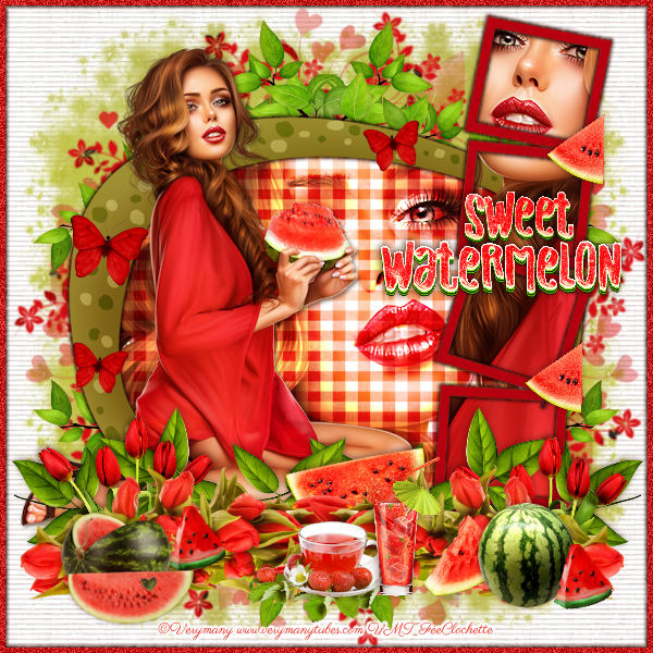 Sweet watermelon