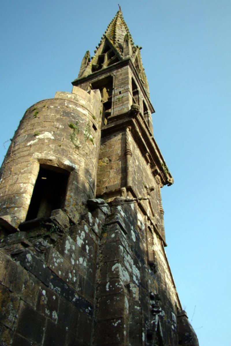 ruines en Cornouaille