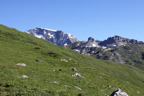 Col du Palet - Col de la Croix des Frêtes - Vanoise Savoie 73 France