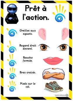 Prêt à l'action, donne m'en 5, gestion classe, comportement, cycle 2, Cp, ce1