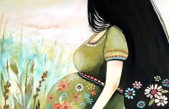 Femme-enceinte-avec-sa-grossesse