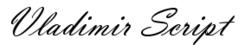 Polices d'écriture les plus courantes