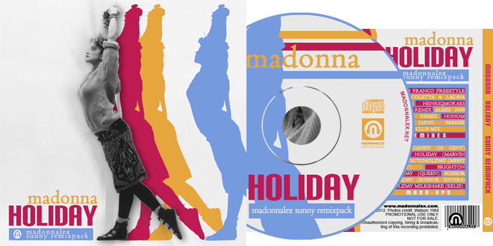 Madonna - Holiday - Sunny RemixPack