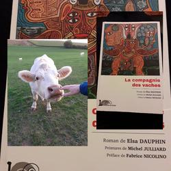 La compagnie des vaches Elsa Dauphin