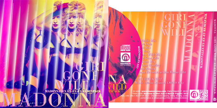 Madonna - Girl Gone Wild 'Ey Ey Ey' RemixPack