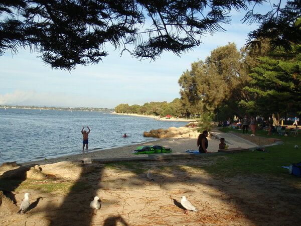 Week end sur les rives de la Swan River