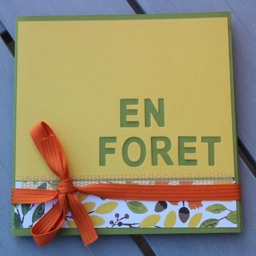 Mini album : En Forêt