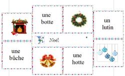 Vocabulaire - Noël