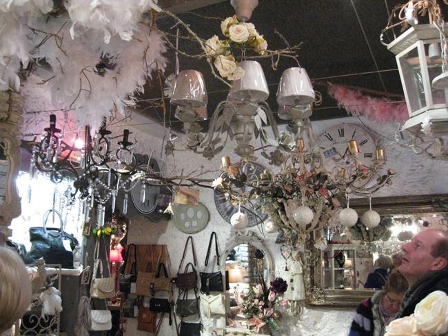 Une jolie boutique dans la vieille ville de boulogne