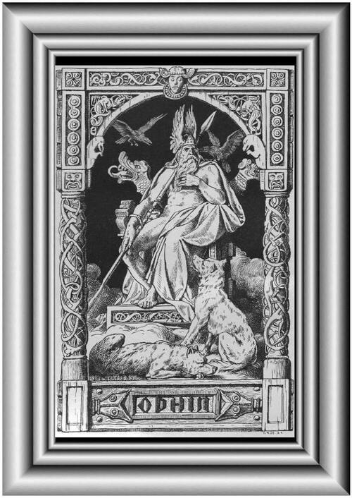 Odin et ses attributs