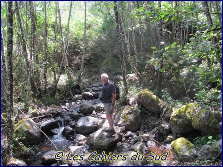 Le Bocca de Eltru, vallée du Fango, Corse.