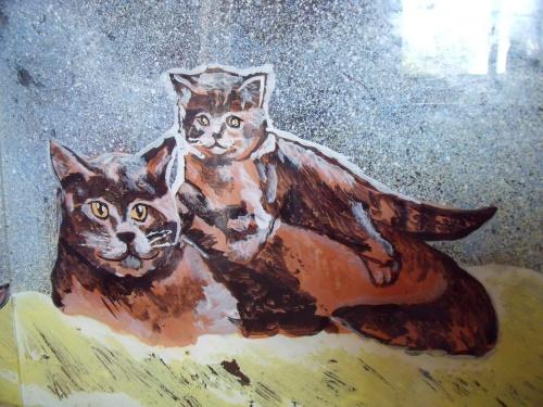 Peinture sur meuble