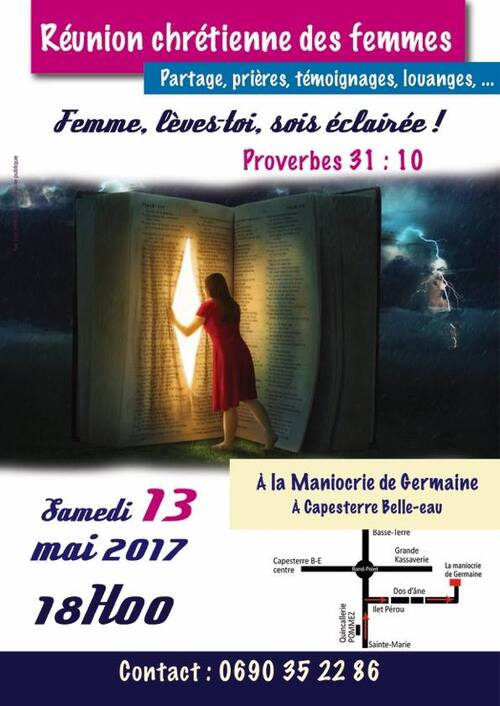 INVITATION REUNION DE FEMMES