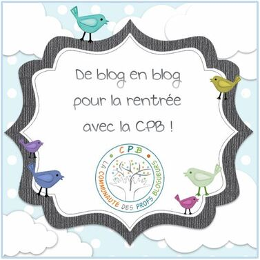 Promenade DE BLOG EN BLOG: La CPB fait sa rentrée: Je vous présente...