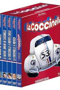 Toutes les aventures délirantes de Herbie la Coccinelle réunit dans ce coffret 5 DVD !