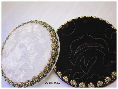 Palette et amulette